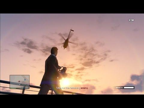 GTA V Online - Del Perro Pier Survival (Solo)
