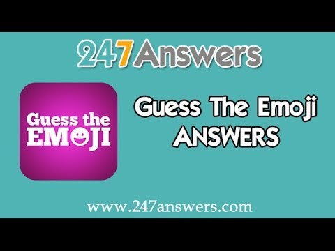 Guess The Emoji Answers - Levels 1 - 100 (ALL)
