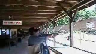 Huge Gun Recoil