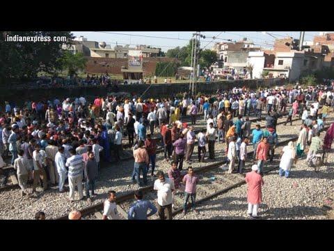 Train accident in Punjab Amritsar (clone)// Durgapur  l Diwali theme l