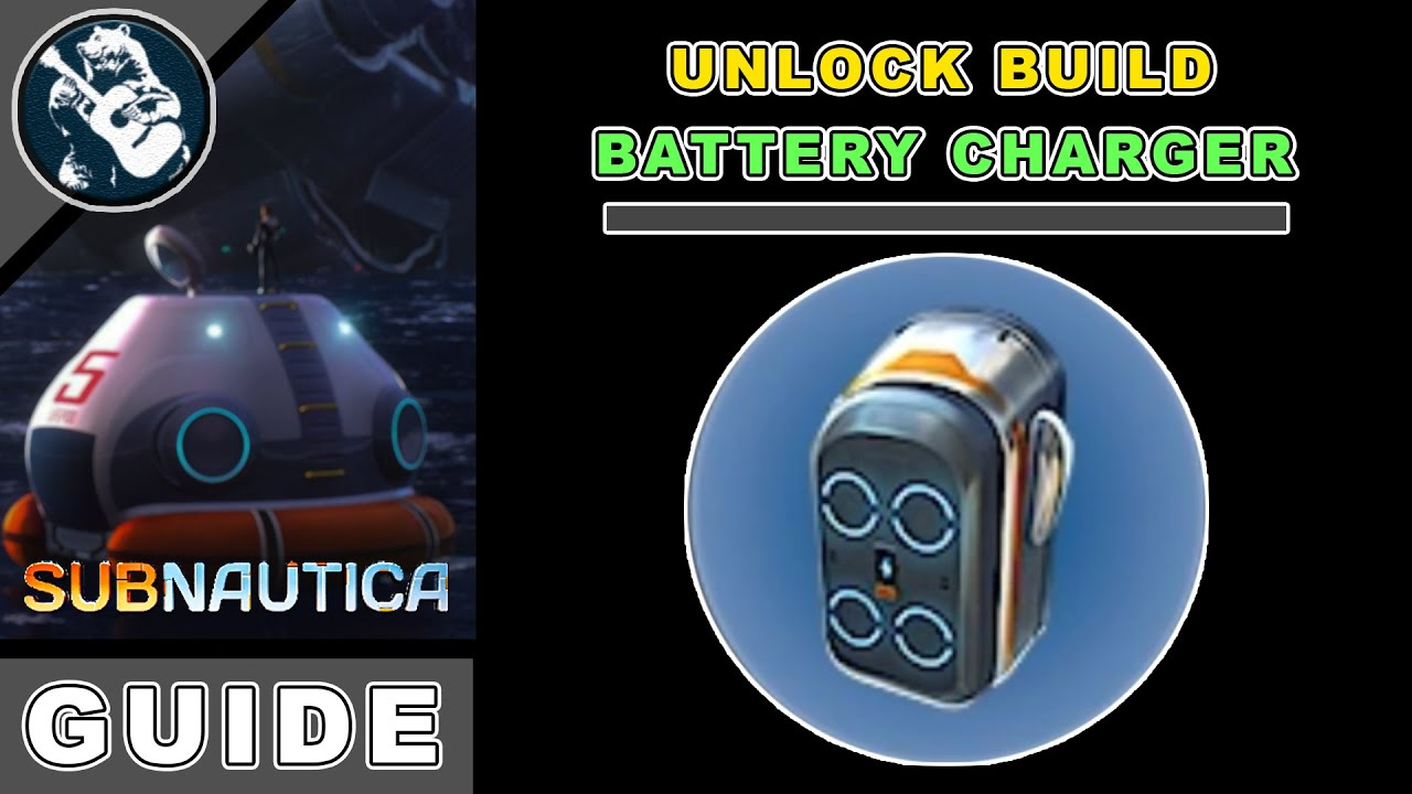 Base Building Guide Subnautica Battery Charger Location Utility Youtube