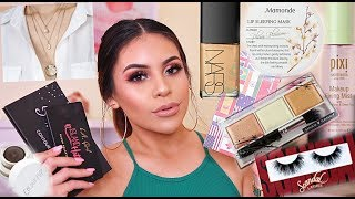 MARCH FAVORITES 2019: CURRENT MUST HAVE MAKEUP PRODUCTS! | JuicyJas