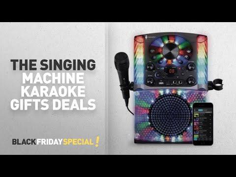 Walmart Top Black Friday The Singing Machine Karaoke Gifts Deals: Singing Machine SML625BTBK