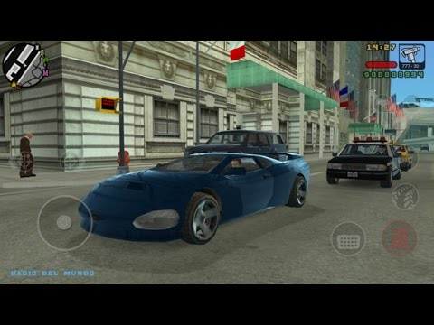 Grand Theft Auto: Liberty City Stories iPad Gameplay