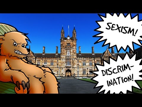 Female students outraged by scholarship favouring men!