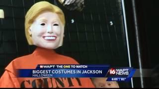 Biggest Halloween costumes revealed