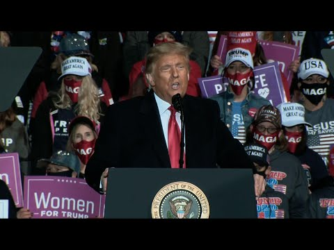 Trump pleas with suburban women: 'Please like me'