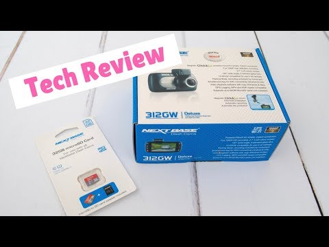 Next Base 312GW Dashcam - Unboxing, In Car Footage And Review