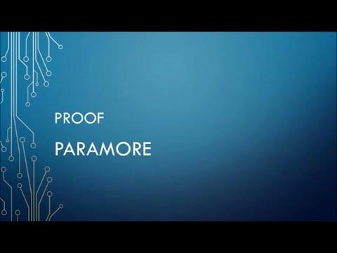 Paramore - Proof (Lyrics)