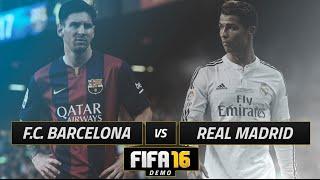 FIFA 16   ''EL CLASICO''   REAL MADRID VS BARCELONA