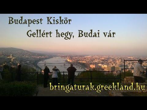 Budapesti gyors kör kerékpárral, Gellért hegy és a Budai Vár