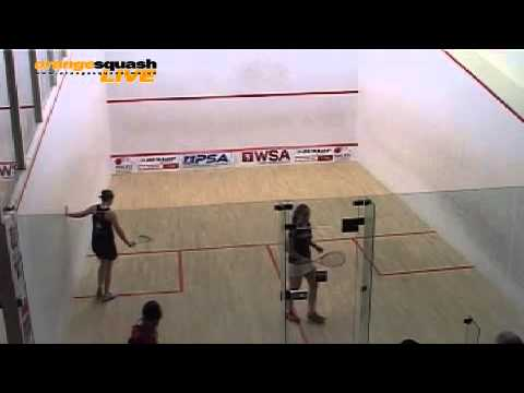 LADIES A FINAL WELSH NATIONAL CHAMPS 2013 - TESNI EVANS v DEON SAFFERY