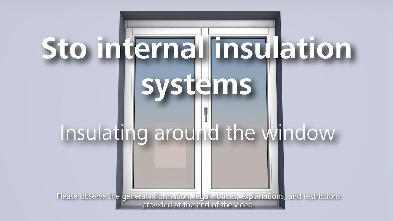 Internal insulation around the window youtube internal insulation around the window solutioingenieria Images