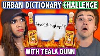 URBAN DICTIONARY HOT SAUCE CHALLENGE (ft. Teala Dunn) | Challenge Chalice