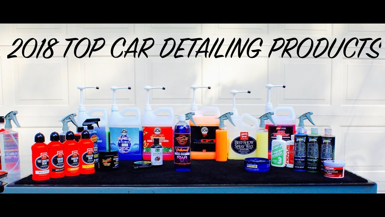 2018 Best Car Detailing Products I Use Auto Fanatic S Top Picks
