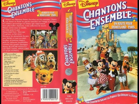 Disney Chantons Ensemble francais (Sing Along) 1080p
