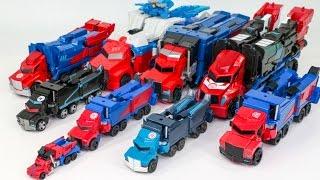 Transformers Rid Adventure Optimus Prime Power Surge Optimus Prime 9 Truck Vehicle Robot Car Toys
