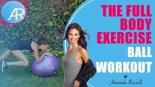 Best Exercise Ball Toning Routine