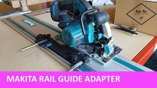 Video Makita circular saw adapter for rail guides - circ saw becomes track saw. download MP3, 3GP, MP4, WEBM, AVI, FLV Juni 2018