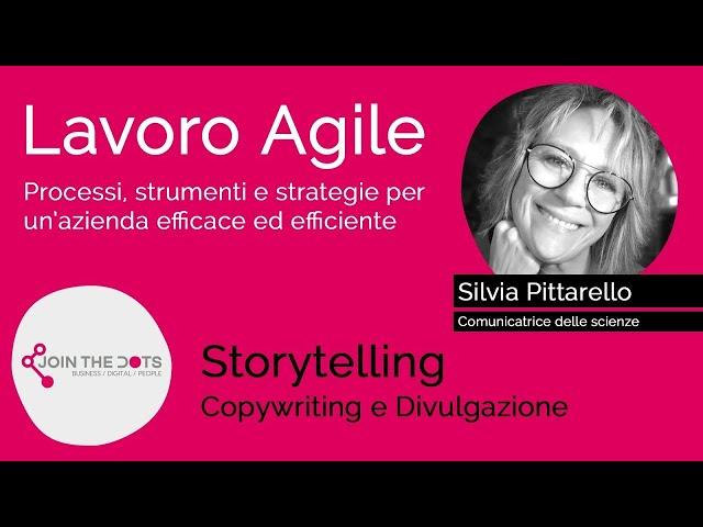 Storytelling, Copywriting e Divulgazione