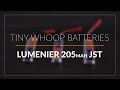 Lumenier 205Mah 25C JST Battery // Tiny Whoop Battery // GetFPV.com
