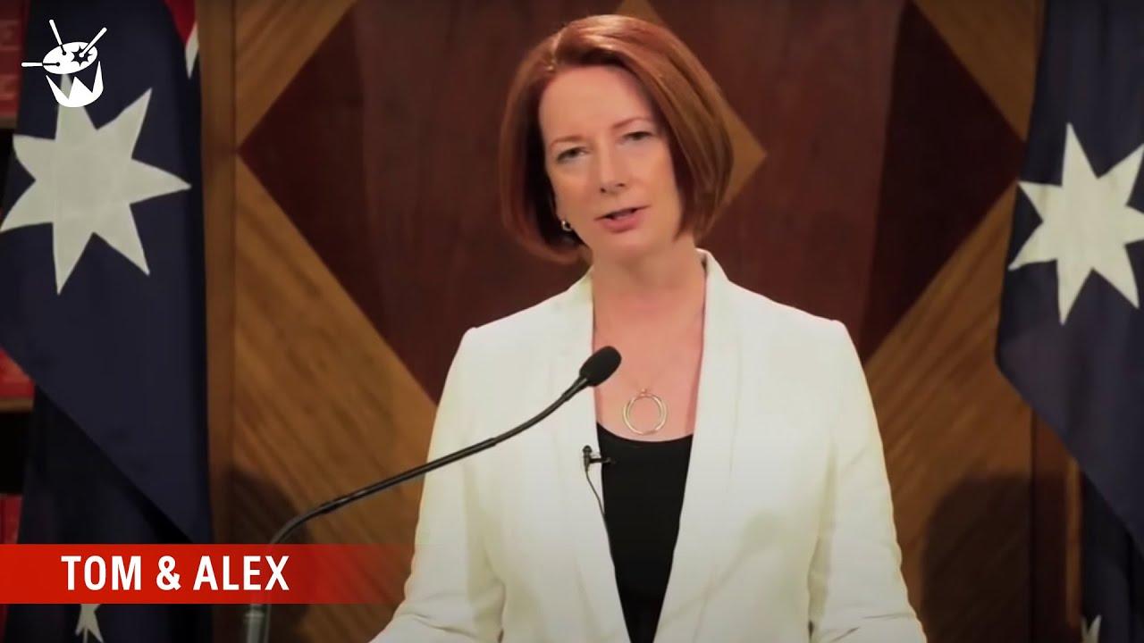 PM Julia Gillard Addresses the End of ...