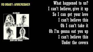 Watch No Doubt Undercover video