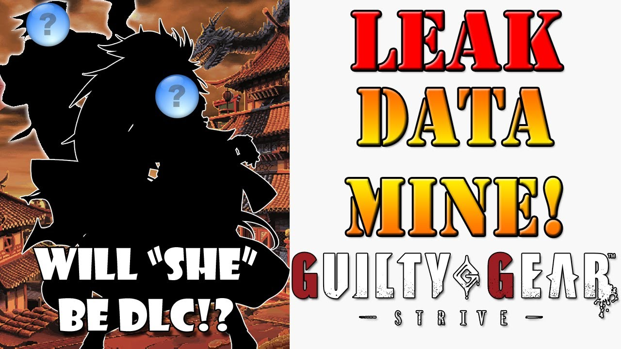 Latest Guilty Gear Strive Datamine leak points towards 2 famous characters returning!
