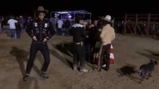 matthew gray gubler dancing in slow motion at a mexican rodeo