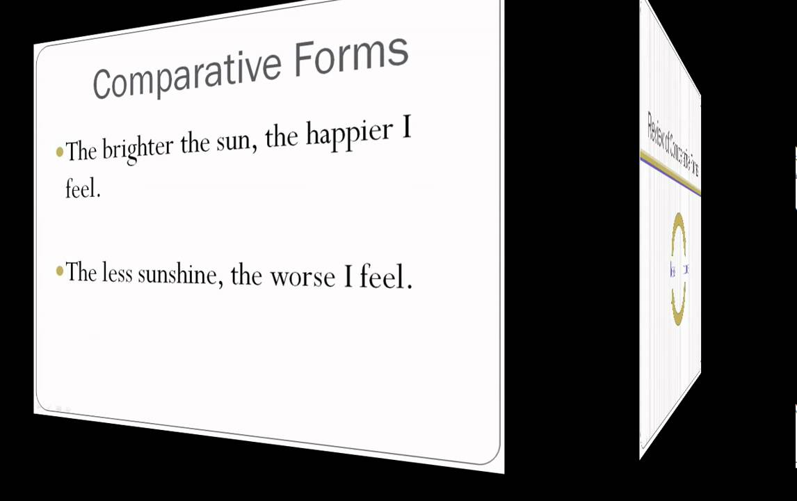double comparatives lesson 21 english grammar