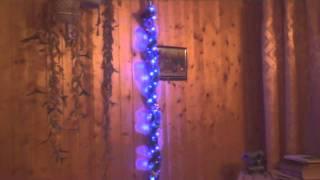 Посох Деда Мороза с LED-подсветкой