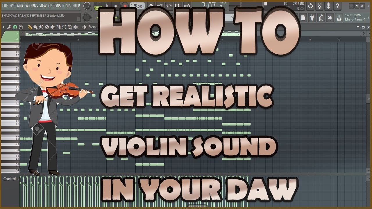How to make Epic Realistic Violin Pattern : EDM [FL Studio Tutorial ]+ Free  FLP