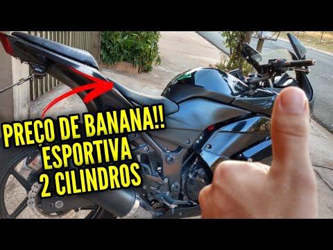 A MOTO ESPORTIVA MAIS BARATA DO BRASIL! A Realidade!