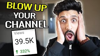 How To Go Viral On YouTube for a Small Channel [NEW HACK REVEALED!]