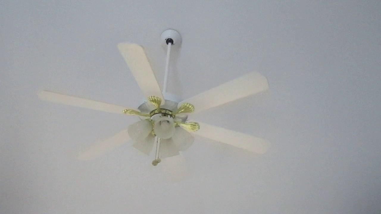 The Westinghouse Ceiling Fan Canopy Came From Edwardian