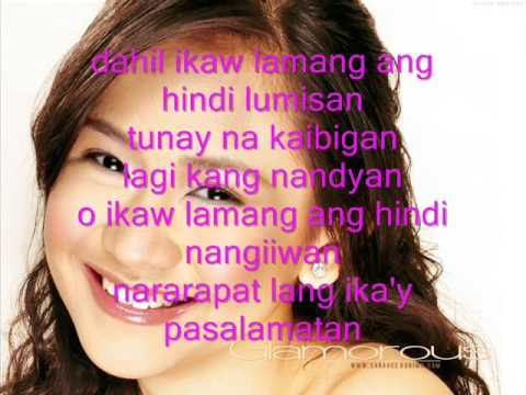 ikaw-sarah geronimo(lyrics)