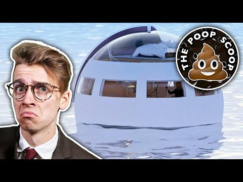 AMAZING FLOATING HOTEL | Poop Scoop #12