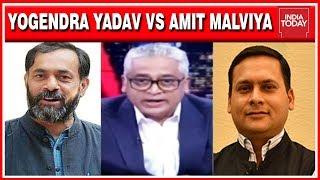 Yogendra Yadav Vs Amit Malviya: Is It Ethical For Pragya Thakur To Contest?   Rajdeep Sardesai