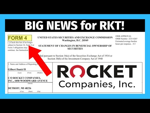 Big News for RKT: Rocket Companies Insider Selling After Lock Up Expiration?