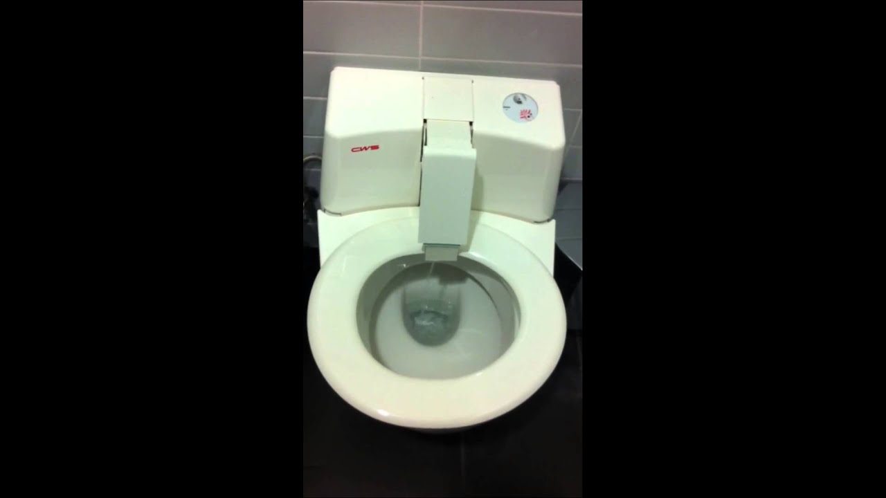 High Tech Toilette
