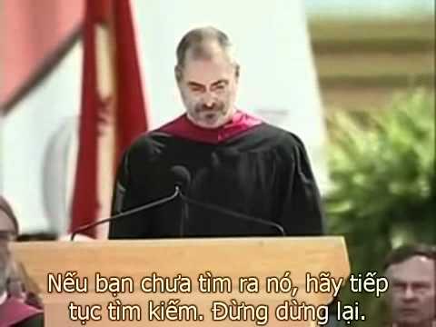 Kỹ năng thuyết trình - Steve Jobs at Stanford university