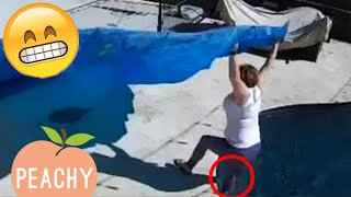 DUMBEST Moments Caught On Security Camera 📷   Hilarious Security Cam Fails