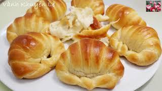 BÁNH MÌ CUA - Cách làm Bánh Mì BƠ SỮA Hình con Cua - Bánh Mì mềm thơm by Vanh Khuyen