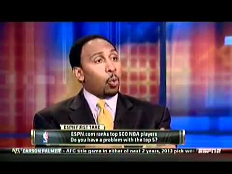 Skip Bayless And Stephen A. Smith Debate The Top 5 NBA Players! (Lebron Not On Their Top 5)
