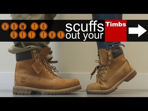 How To Get The Scuffs Out Your Timberlands