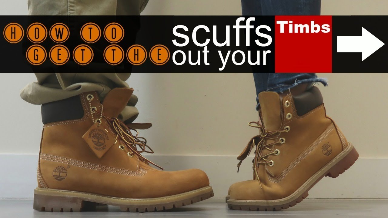 Scuffs Out Your Timberlands