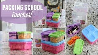Packing School Lunches!
