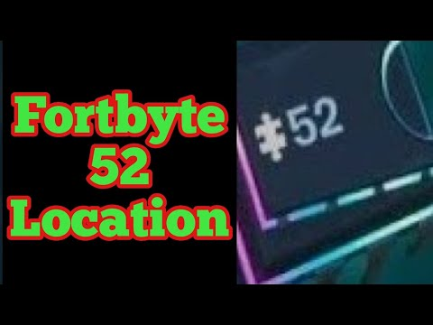 Fortbyte #52 - Accessible With The Bot Spray Inside A Robot Factory (Fortbyte 52 Location Fortnite)