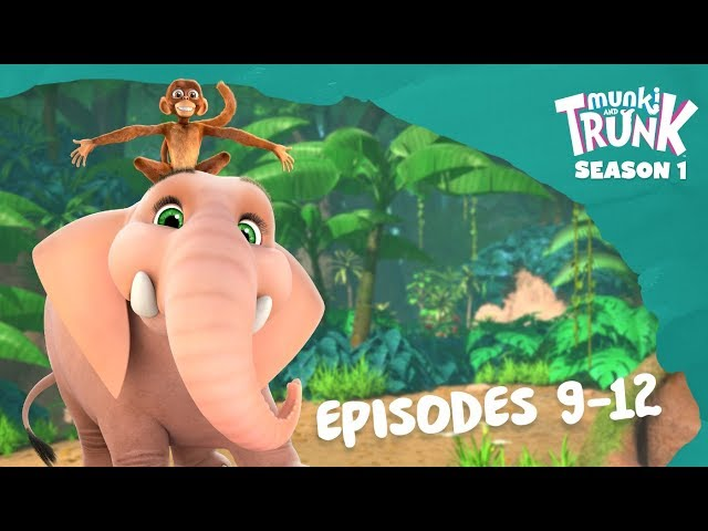 M&T Full Episodes 09-12 [Munki and Trunk]