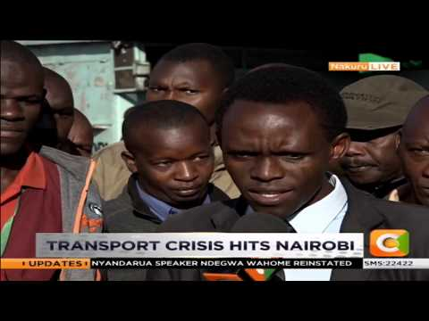 DAY BREAK | Paralysation of transport in Nakuru
